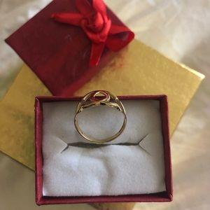 14k Gold Designer style ring